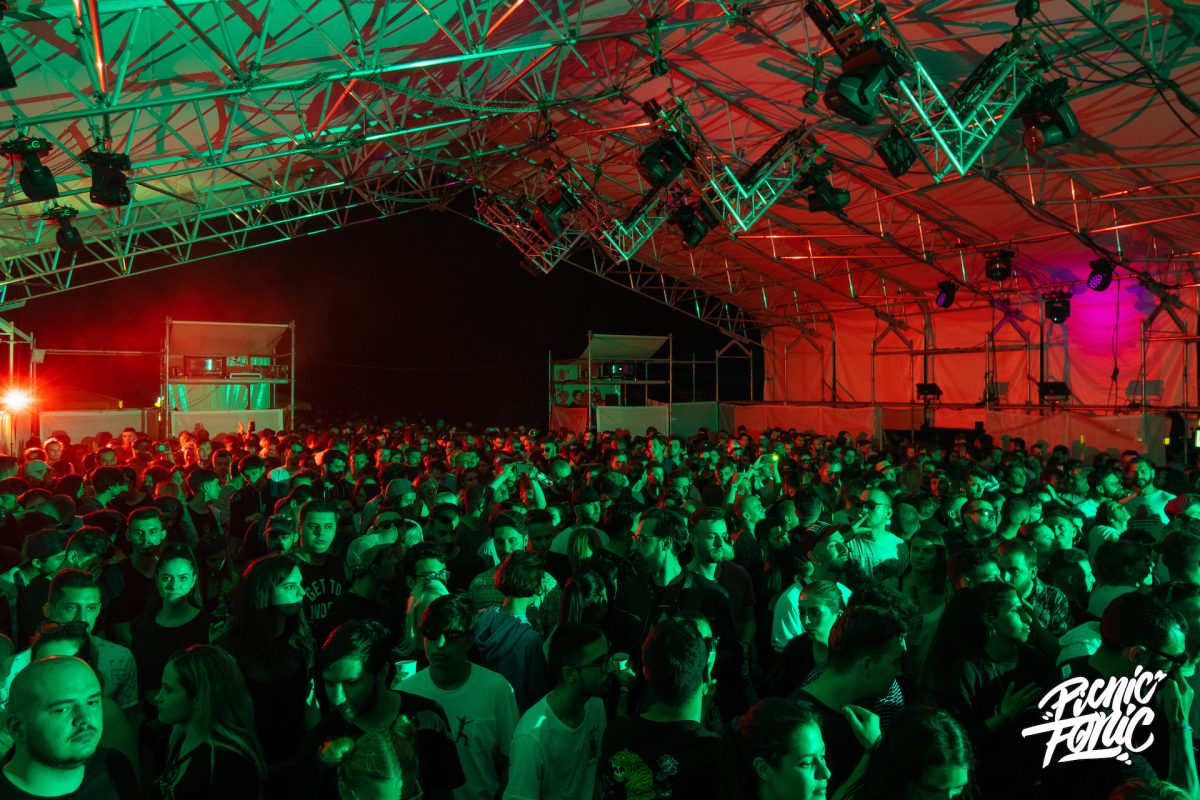 PicnicFonic 2019 main tent